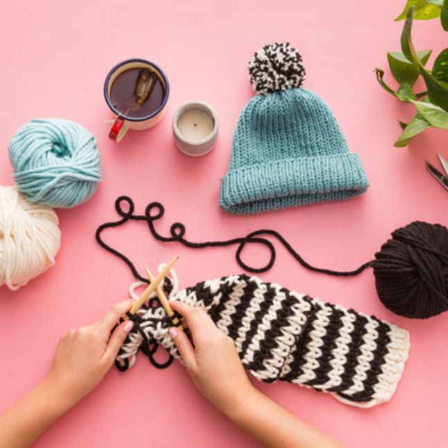 Intro To Knitting Online Class by Brit+Co